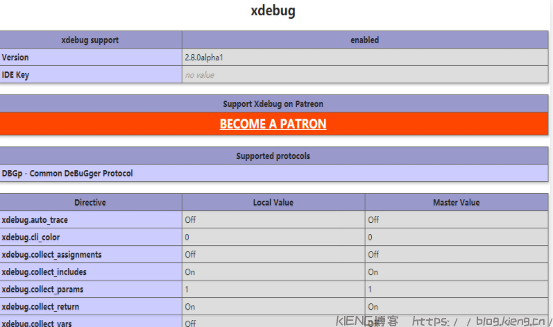 Windows PHP Study 下安装 PHP 扩展 Xdebug