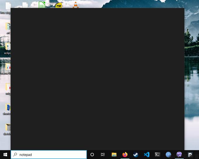 Windows 10 左下角搜索黑色(黑屏)的解决办法.