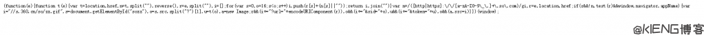360 自动收录 JS 报错解决方法